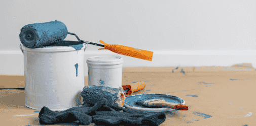 DIY revamping of your home's interior with paint