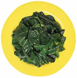 Quick and Easy Spinach with minced garlic