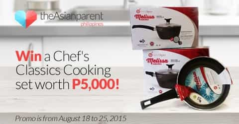 WIN a Chef's Classics cooking set worth P5,000!