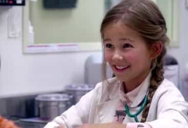 Watch: Little girls live their dreams for a day