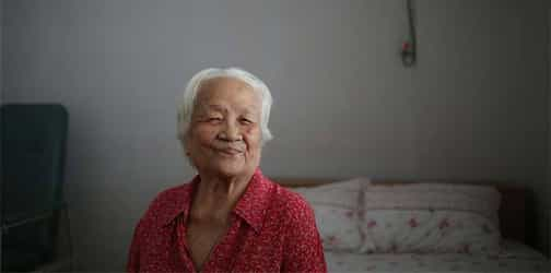 77-year-old grandmother mothered 43 foster children!