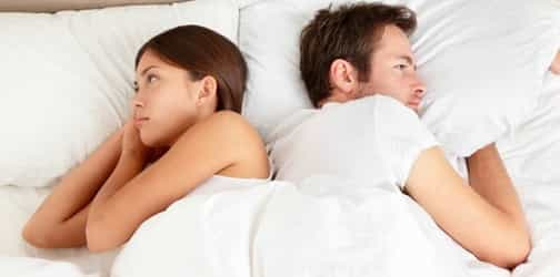 Why do couples fight when they stop having sex?