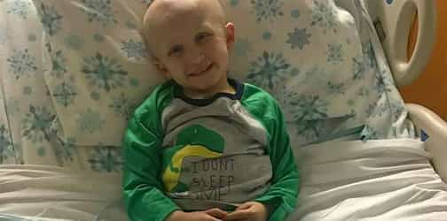Boy's last 4 words before losing his life to childhood cancer
