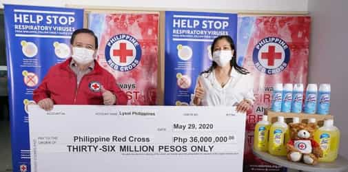 Disinfect to Protect: Lysol donates P36M to Philippine Red Cross to combat COVID-19