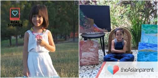 Amazing! This 5 year-old artist is already getting commissioned for paintings