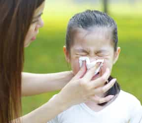 Helping your child cope with the common cold