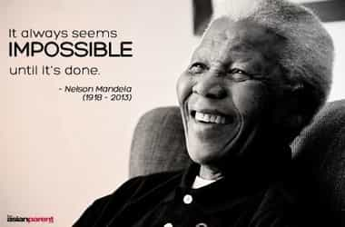Making the impossible possible: A mother's tribute to Nelson Mandela