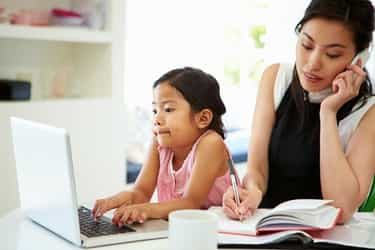 How to Be a Work-From-Home Mum