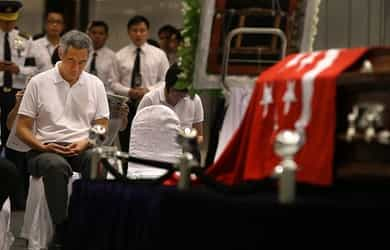 """""""Farewell, and rest in peace, Papa"""": PM Lee's eulogy to his late father Mr. Lee Kuan Yew"""