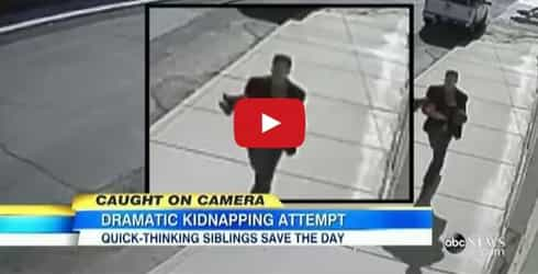 2-year-old boy almost kidnapped by stranger - Watch what happens next!