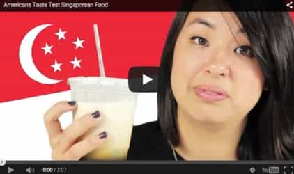 Americans taste popular Singaporean dishes for the first time!