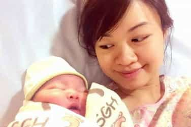 Up Close And Personal With New Mum, Tin Pei Ling