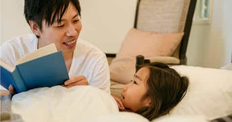 Dads Reading Bedtime Stories: Why It's Better For Your Child's Development!