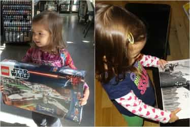 """All alone in her cot, toddler sings Star Wars """"Imperial March"""" perfectly!"""