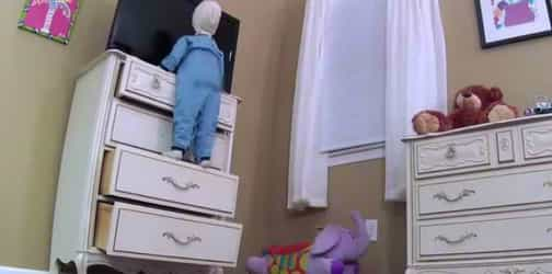 Toddler crushed to death by drawers sheds light on need for child-proofing