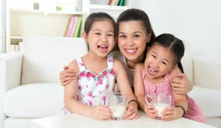 The benefits of including milk in your child's daily diet