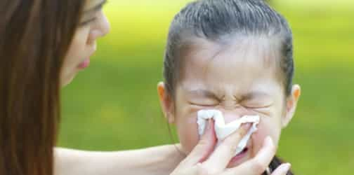 Is Your Child's Runny Nose Due To The Milk And Cookie Disease?