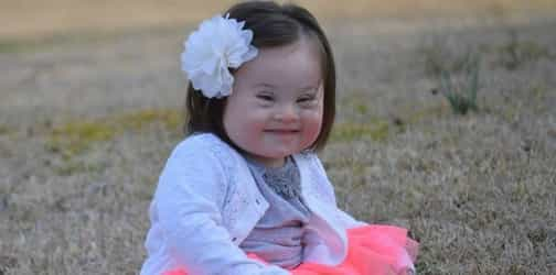 """Mum tells doctors who suggested abortion they were """"so very wrong"""" about her daughter with down syndrome"""