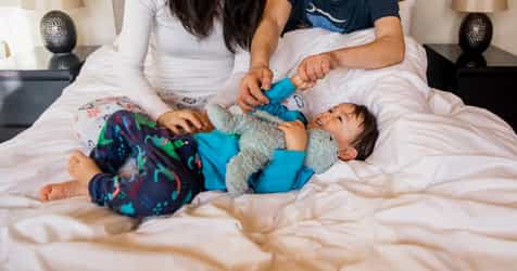 """Learn Why This Mum Embraces This """"Bad"""" Sleeping Habit"""
