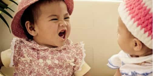 Want to know what your baby's first words will be? See at what they look at the most