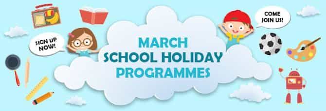 Exciting March School Holiday Programmes at SAFRA Clubs