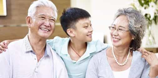 The mathematical formula for balanced parenting includes grandparents
