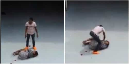 Husband stabs wife in Singapore, gets arrested