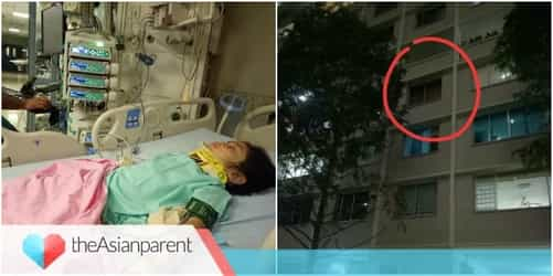 Girl Falls From Flat In Singapore, Gets Severely Injured