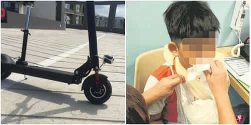 Little boy hurt after being hit by e-scooter in Singapore