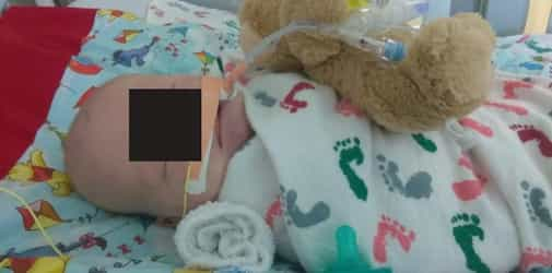 5-week-old baby seriously ill with infant botulism