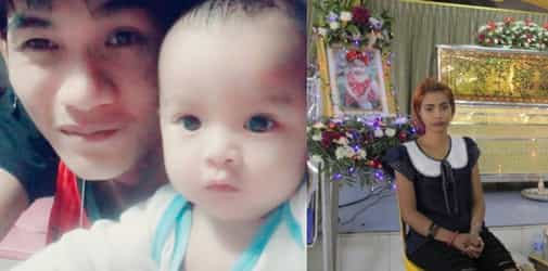 Mother watches husband kill baby on horrific live video