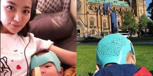 This is Why Cheryl Wee's Baby Needs to Wear a Helmet