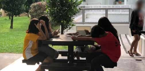 Troublemaking kids spit on helper and toddler: How to teach teens manners