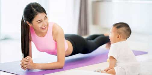 Mums, Here Are 6 Tips For A Flat Tummy After Pregnancy