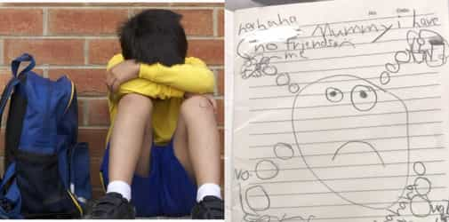 Singapore child with autism draws achingly lonely picture of coping with mainstream school