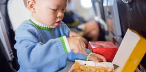 Everything You Need To Know About Baby Snacks For Your Next Holiday Flight