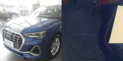 Parents Forced To Pay US$13,500 After 3-Year-Old Scratches 10 Audis In Showroom