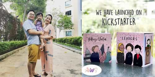Inspiring Women: Interview With Priscilla Tan, Author of the Awesome Women Series