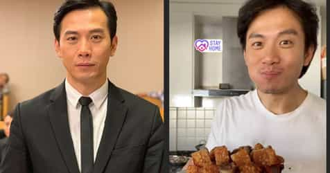 #StayHome: TV Hunk Qi Yuwu Becomes Kitchen 'Uncle' During Circuit Breaker