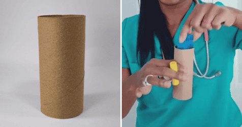 Pediatrician Mum's Toilet Paper Test To See If Toys Are A Choking Hazard