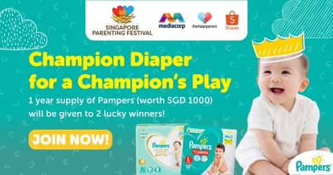 Singapore Parenting Festival 2021 Presents The 'Unleash Your Baby's Best Play' Contest