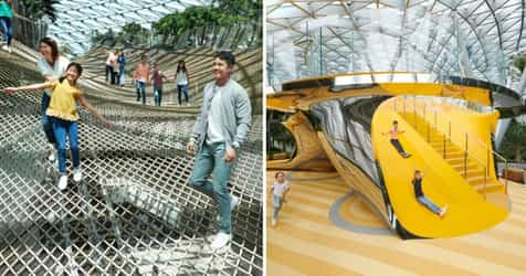 Family-friendly Fun At Jewel Changi Airport: Here's What You Can Do!