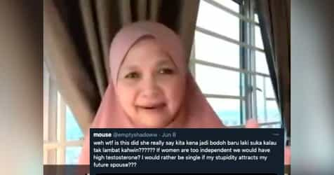 Malaysian Professor Triggers Backlash For Saying Women Should 'Act Dumb' In Order To Attract Men