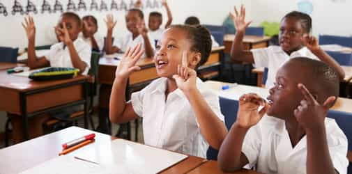 Back to school affirmations for Nigerian kids