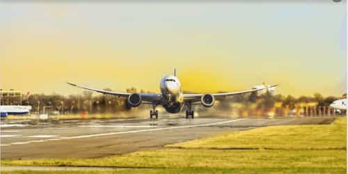 Nigerian Man Attempts To Travel On Wings Of Local Airline
