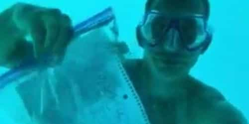 Man drowns while proposing to his girlfriend underwater