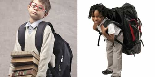 Here Are The Effects Of Heavy Backpacks On The Spine