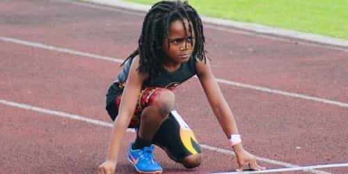 This 7 Year Old May Be The Fastest Boy In The World