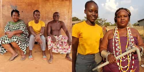 Lupita Nyong'o Visits Benin To Learn About The Amazons Who Inspired The Dora Milaje Character