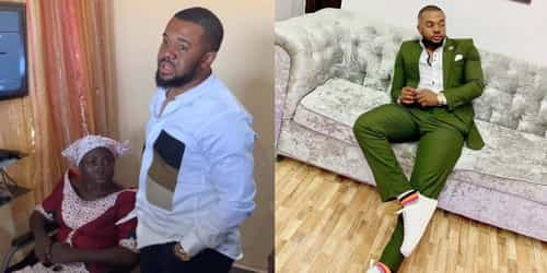 Williams Uchemba Rents A House For A Crippled Woman And Her Family Of Seven